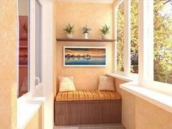 Внутренняя отделка балконов и лоджий в Тюмени