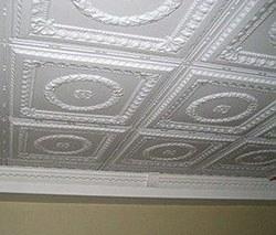 Потолочная плитка г.Тюмень, плитка на потолок